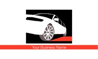 "Taxi Hire 2"" x 3.5"" Business Cards by Paul Bullock"