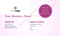 "Salon 2"" x 3.5"" Business Cards by C V"