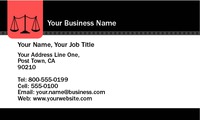 "Lawyers 2"" x 3.5"" Business Cards by Templatecloud"