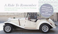 "Car Hire 2"" x 3.5"" Business Cards by Rebecca Doherty"