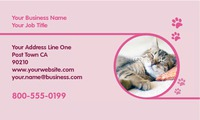 "Animals 2"" x 3.5"" Business Cards by Ro Do"