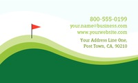 """2"""" x 3.5"""" Business Cards by TemplateCloud.com"""