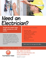 "Electrical 8.5"" x 11"" Flyers by Paul Wongsam"