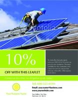 "Solar Panels 8.5"" x 11"" Flyers by Paul Wongsam"