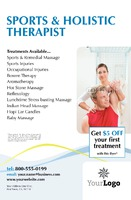 """Massage 5.5"""" x 8.5"""" Flyers by Paul Wongsam"""