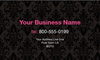 "Hair 2"" x 3.5"" Business Cards by Paul Wongsam"
