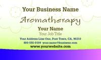 """Aromatherapy 2"""" x 3.5"""" Business Cards by Printing.com Edinburgh"""