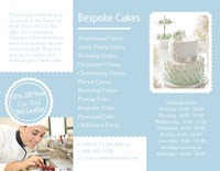"Bakery 8.5"" x 11"" Brochures by TemplateCloud.com"