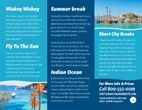 """Cruise 8.5"""" x 11"""" Brochures by TemplateCloud.com"""