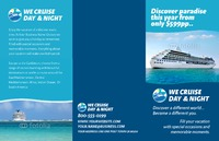 "Cruise 11"" x 17"" Brochures by TemplateCloud.com"
