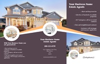 """Estate Agents 11"""" x 17"""" Brochures by Rebecca Doherty"""