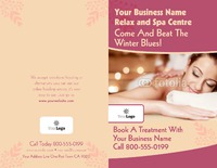 "Beauty Salon 8.5"" x 11"" Brochures by Ro Do"