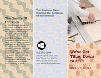 "Home Maintenance 8.5"" x 11"" Brochures by TemplateCloud.com"