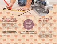 "Home Maintenance 8.5"" x 11"" Brochures by TemplateCloud.com"