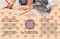 "Home Maintenance 11"" x 17"" Brochures by TemplateCloud.com"