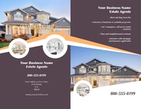 "Estate Agents 8.5"" x 11"" Brochures by Rebecca Doherty"