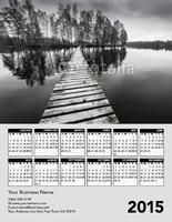 """Home Maintenance 8.5"""" x 11"""" Calendar by Scott Hamrick"""