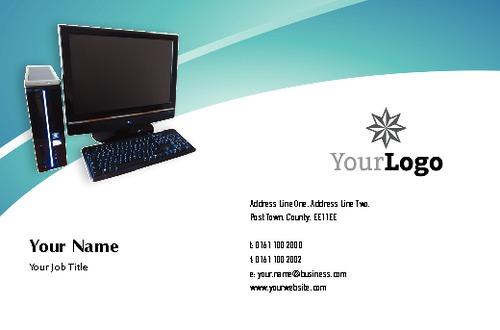 Computer Technicians Business Card