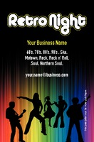 Clubs Business Card  by Templatecloud