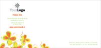 Fleuriste 1/3 de A4 Papeterie par Templatecloud