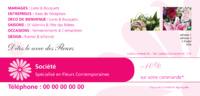 Fleuriste 1/3 de A4 Tracts par Templatecloud