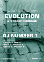 Nightclub A3 Affiches par Templatecloud
