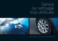 Concessionnaires automobile A5 Tracts par Templatecloud