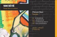 Artistes Carte de visite  par Templatecloud