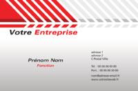 Entrepreneurs Carte de visite  par Templatecloud