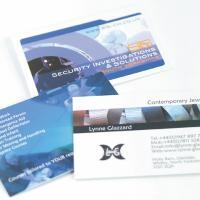 Fabu-Gloss Business Cards with UV on Front