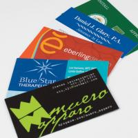 Soft-Touch Business Cards