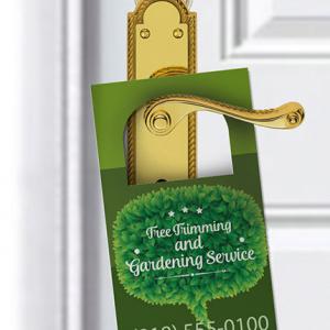 100LB Gloss Book Door Hangers + AQ
