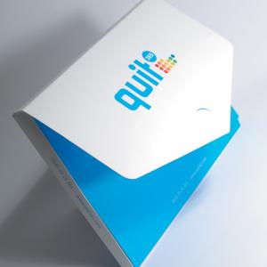 Spot UV Fat Folders