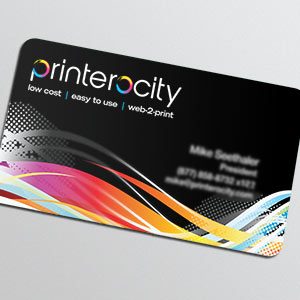 Business Card Punched StarMarque