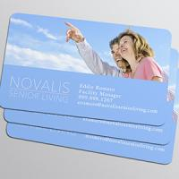 Business Card Punched Regular