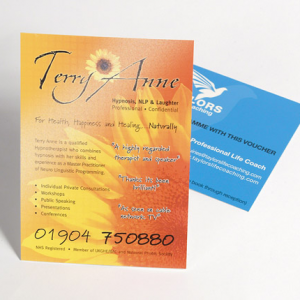 Fabu-Gloss Flyers with UV on Front